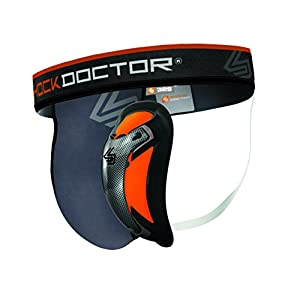 ShockDoctor Tiefschütz Herren mit Ultra Carbon Flex Cup – Entwickelt für den Kampfsport: Boxen, Karate, Taekwondo, Krav Maga, MMA, Muay Thai …