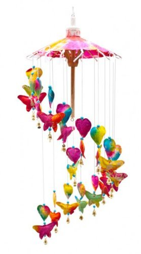 girls-rainbow-butterflies-hearts-paper-mobile