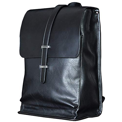 JIEPAI Mode Herren Rucksack Business Trend Flip Rucksack Student Bag Herren Reisetasche Computer Tasche