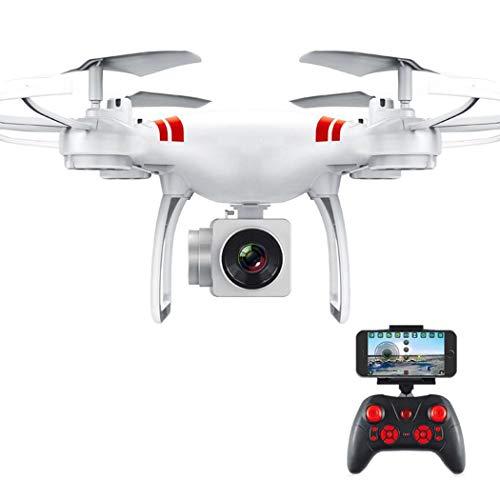 Eroihe Quadcopter Helicóptero de Control Remoto WiFi Drone con Cámara