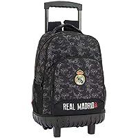 Safta Real Madrid Mochila Infantil, 45 cm, Negro