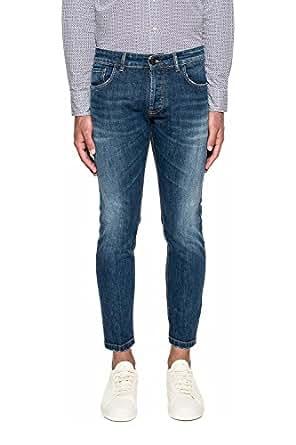 8b5ce1e5cc590 Entre Amis Jeans Uomo PP178177206L155 Cotone Blu  Amazon.it  Abbigliamento
