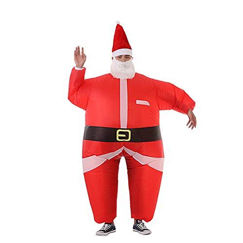 Aufblasbare Weihnachtsmann Anzug - DAH Lustige Aufblasbare Weihnachtsmann Weihnachts Leistung