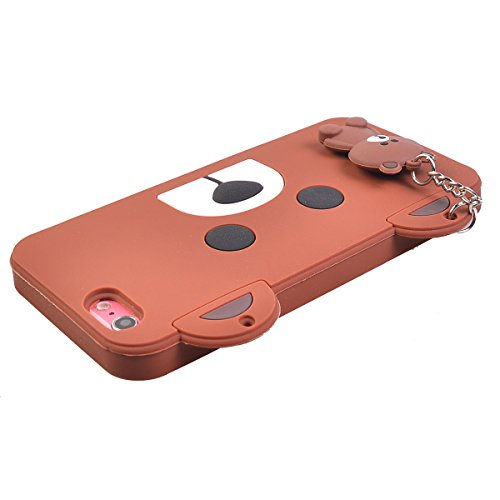 """COOLKE 3D Fashion Klassische Karikatur Tier weiche Silikon Shell Schutzhülle Hülle case cover für Apple iPhone 6s Plus / 6 Plus (5.5"""") - 008 013"""