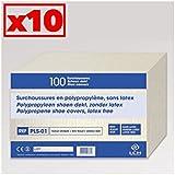 Surchaussure Non Stérile à Usage Unique Carton De 10 Sachets De 50 Paires - Pls-01_10