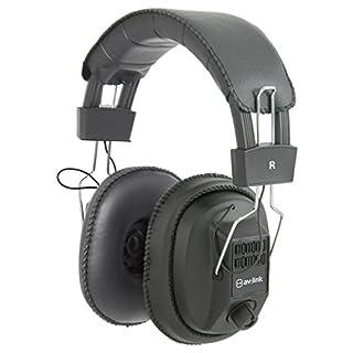 AVLink msh40M Kopfhörer mit Unabhängige links und rechts Lautstärkeregler