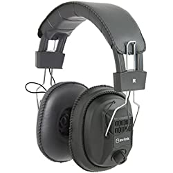 AvLink msh40M Auriculares de diadema con controles de volumen independiente oído izquierdo y derecho