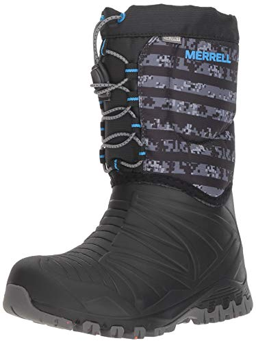Merrell Kids' Snow Quest Lite WTRPF Boot -