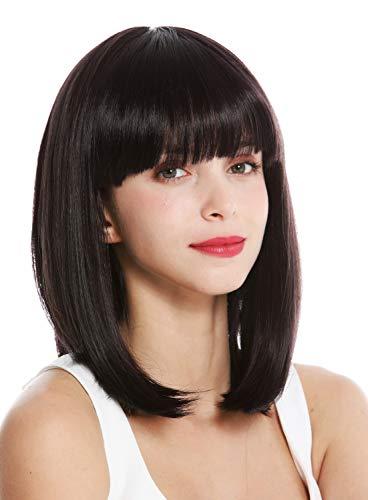 WIG ME UP ® - VK-1-3HDEEPVIOL peluca mujer pelo corto