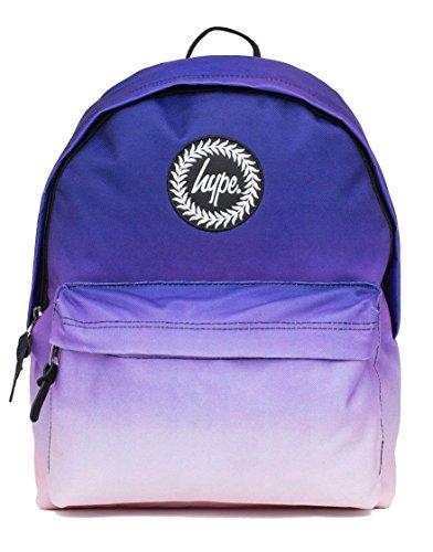 Hype Zaini Per Borse Da Zaino - Molti Nuovi Colori E Design - Scegli I Tuoi Preferiti 40 Stili, Nero Maculato / Blu Navy (nero) - Hype Bag (splatter Embroid) Orizzonte