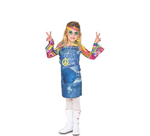 Fyasa 706464-t01Hippie Cowgirl Kind Kostüm, Mittel (Hippie Kostüm Männlich)