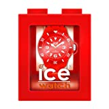 Ice-Watch Unisex-Armbanduhr Medium Classic Solid Rot CS.RD.U.P.10