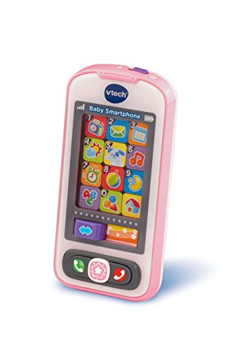 VTech Baby 80-146154 - Smartphone, rosa Baby Touch-screen-handy