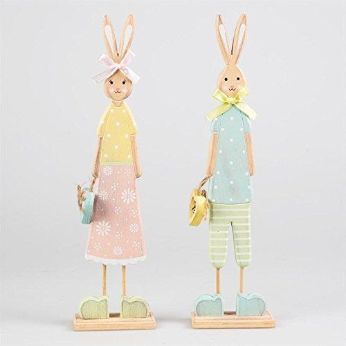 mr-mrs-easter-bunny-rabbit-set-vintage-effect-hare-sculpture-ornament-figurine
