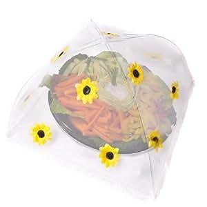 caraselle abdeckhaube mesh pop up large f r lebensmittel aus polyester mit motiv sonnenblume. Black Bedroom Furniture Sets. Home Design Ideas