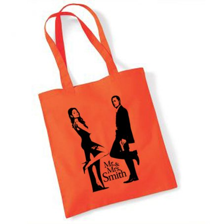 Mr and Mrs Smith Sac-Orange