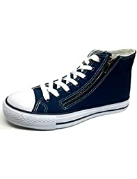 OMS by ORIGINAL MARINES SCARPE uomo mod. HCL 05014 tela bianco sneakers
