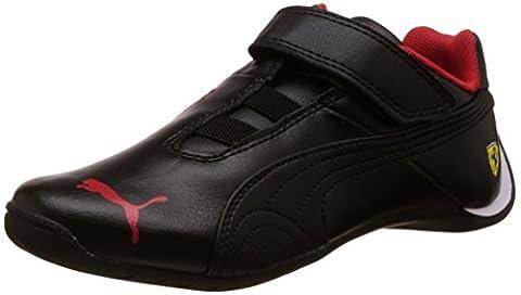 Puma Future Cat Sf, Baskets mode mixte enfant - Noir (Black/Black), 26 EU (8.5 UK)