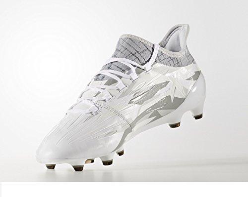 adidas X 16.1 FG, Chaussures de Foot Homme FTWWHT/FTWWHT/CBLACK