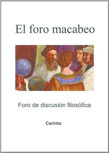 Un foro macabeo (de discusión filosófica) por Cerinto