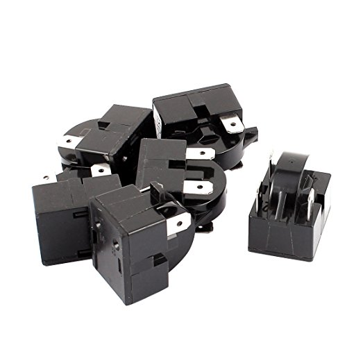 sourcingmap® AC 220V 15 Ohm 3 Morsetti Frigorifero compressore PTC accensione Relè 6 pz