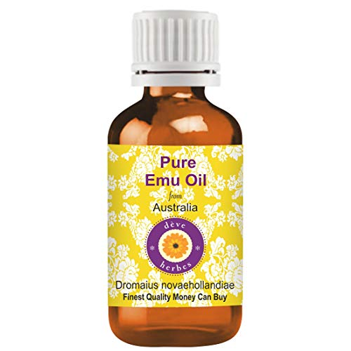 Deve Herbes Pure Emu Oil (Dromaius novaehollandiae) Therapeutic Grade 30ml
