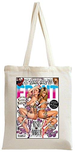 Arabella Drummond Front Magazine Cover Sexy Tote Bag -