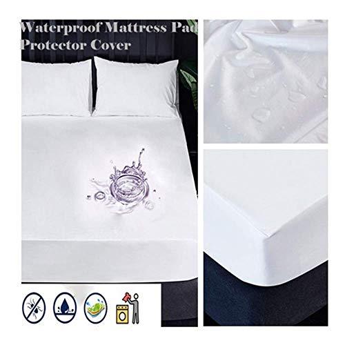 Yncc 2 wasserdichte Matratzenauflagen - Schutzhülle - ausgestattet mit einer 8