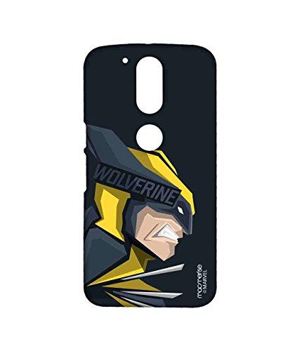Macmerise Licensed Marvel Comics Wolverine Premium Printed Back cover Case for Moto G4 Plus