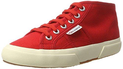 Superga - 2754 Jcot Classic, Pantofole a Stivaletto Unisex – Bambini rosso (rosso)
