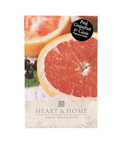 Heart & Home Duft Sachet-Pink Grapefruit & Cassis -
