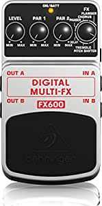 behringer fx600 digital multi effects pedal musical instruments. Black Bedroom Furniture Sets. Home Design Ideas