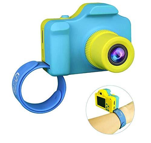 SSCJ Kinder-Digital Kamera Mini 1,5 Zoll Leinwand Kinder-Kamera Kindergeschenk Lange Standby (Blau) Digital Kamera 1,5