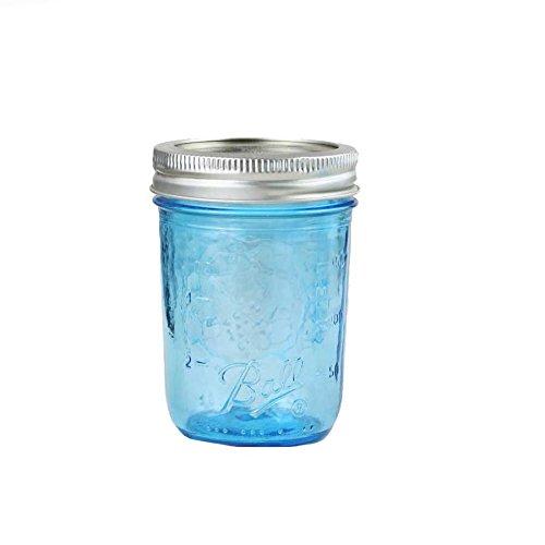 4 x Ball Mason Jar | Blau 240 ml