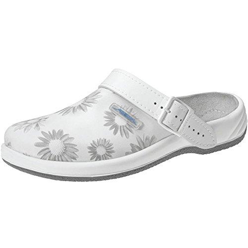 Abeba 8220-41 Arrow Chaussures sabot Taille 41 Blanc