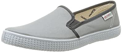 Victoria Slip On, Baskets mode mixte adulte - Gris, 36 EU