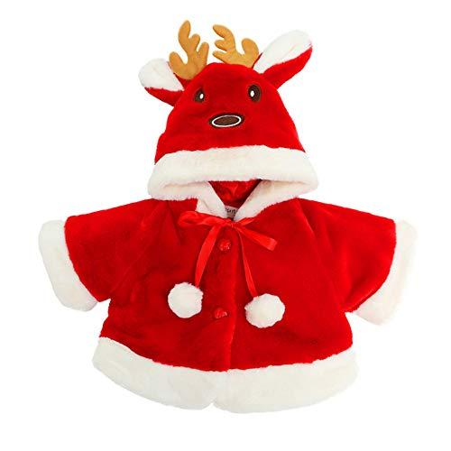 Kobay Baby Mantel Mädchen Winter Kinder Baby Weihnachten -