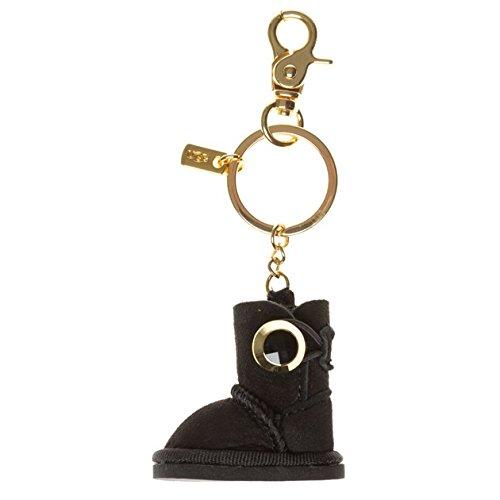 ugg-porte-cles-bailey-button-wkc023-black-tailleone-size