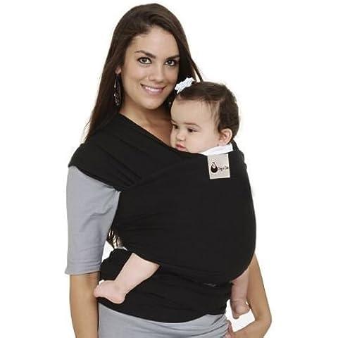 Cosy N–QUALITÀ PREMIUM Baby Carrier Sling Wrap. Ideale Comfort Supersoft cotone spandex Mix–Snug e Cozy Fit–adatto per neonati bambini fino a 30lbs