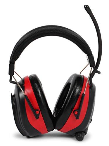 Nordstrand Protector para Oídos Defensores Auditivos - NRR 25dB - Radio FM/AM - Estereo Entrada de Audio