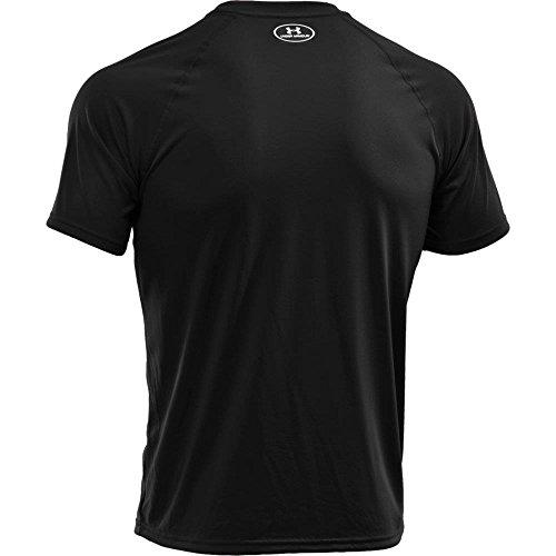Under Armour Herren UA Tech Ss Fitness T-Shirt, Schwarz, XXL - Bild 7