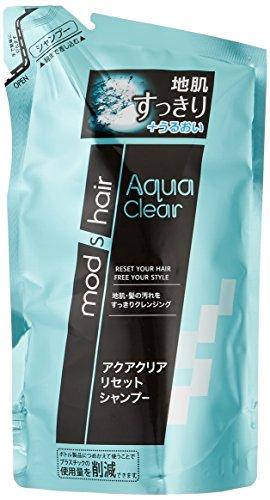 Unilever Japan mods hair | Shampoo | Aqua Clear Reset Shampoo Refill 350ml (Japan Import) by mods hair