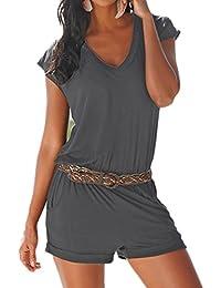 Amazon.it  L - Monopezzi e tutine   Donna  Abbigliamento df6bb94e278