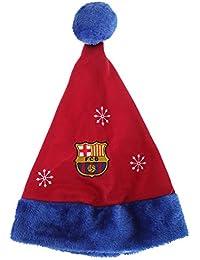 Barcelona F.C. - Gorro de Papá Noel, diseño de Barcelona F.C.