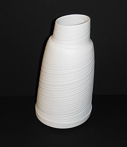 Rosenthal Papyrus Relief weiss - Vase 22 cm weiss - 1.Wahl , NEU Papyrus Vase