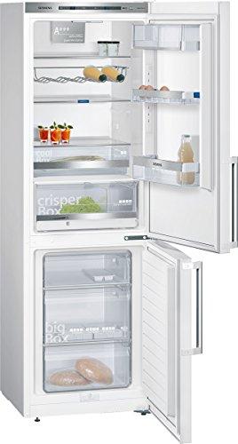 Siemens KG36EAW43 iQ500 Kühl-Gefrier-Kombination / A+++ / 186 cm Höhe / 149 kWh/Jahr / 214 Liter Kühlteil / 88 Liter Gefrierteil