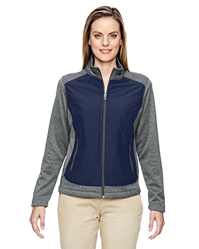 Ladies' Victory Hybrid Performance Fleece Jacket CLASSIC NAVY 849 3XL -