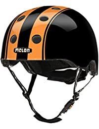 Melon Allroundhelm - Casco de ciclismo multiuso, color negro, talla m-l (52cm-58cm)