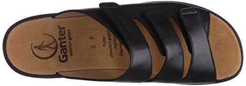 Ganter Selina, Weite F 3-202901-02020 Damen Clogs & Pantoletten Schwarz (schwarz 0100)