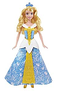 Disney Princesses - CBD13 - Poupée - Princesse Aurore Robe Enchantée